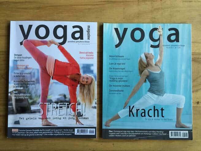 cover shoot yogamagazine